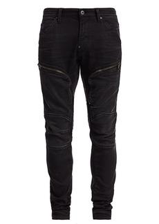 G Star Raw Denim Air Defence Zip Skinny Jeans