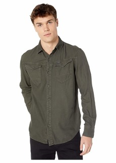 G Star Raw Denim Arc 3D Long Sleeve Slim Shirt