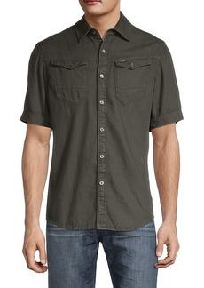 G Star Raw Denim Arc Cotton Shirt