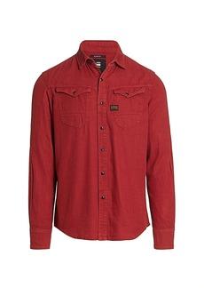 G Star Raw Denim Arc Slim-Fit Double Pocket Shirt