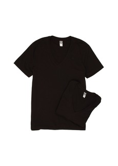 G Star Raw Denim Base Heather V-Neck Tee 2-Pack