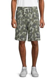 G Star Raw Denim Brush Camouflage Shorts