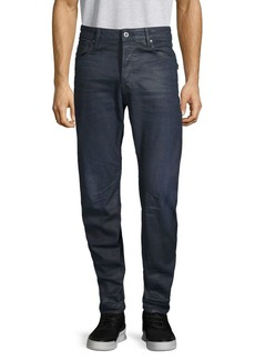 G Star Raw Denim Buttoned Stretch Jeans