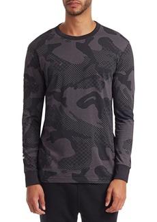 G Star Raw Denim Camo Long Sleeve T-Shirt