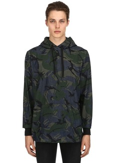 G Star Raw Denim Camo Printed Store Anorak Overshirt