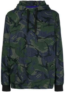 G Star Raw Denim camouflage denim sweatshirt