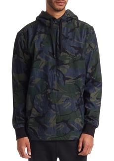 G Star Raw Denim Camouflage Hoodie