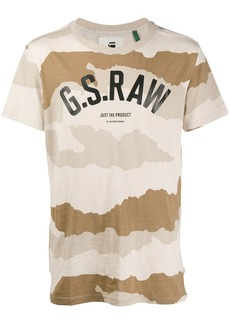 G Star Raw Denim camouflage print T-shirt