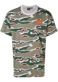 G Star Raw Denim camouflage T-shirt