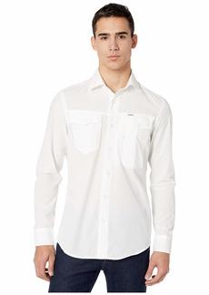 G Star Raw Denim Citishield Slim Shirt Long Sleeve