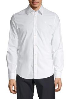 G Star Raw Denim Classic Stretch Button-Down Shirt