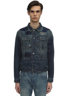 G Star Raw Denim Cny D-staq Slim Cotton Denim Jacket