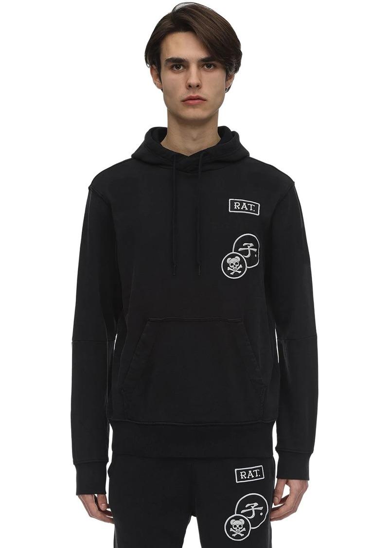 G Star Raw Denim Cny Graphic Patches Sweatshirt Hoodie
