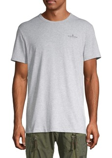 G Star Raw Denim Crewneck Cotton-Blend Tee