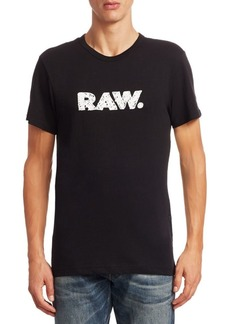 G Star Raw Denim Crewneck Cotton Tee