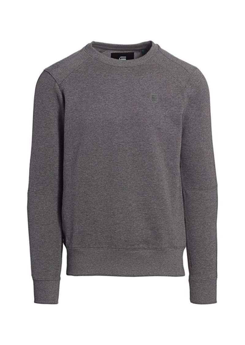 G Star Raw Denim Crewneck Sweatshirt