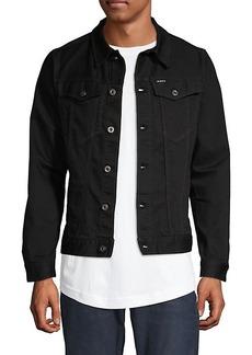 G Star Raw Denim Cropped Denim Jacket