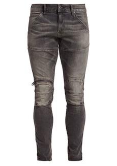 G Star Raw Denim D-Staq 3D Zip Knee Slim-Fit Jeans