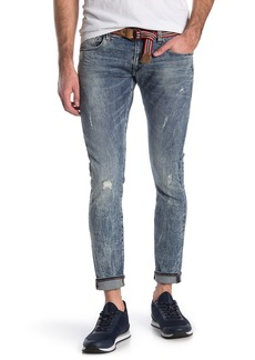 G Star Raw Denim Deconstructed Ripped Skinny Jeans