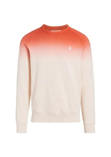 G Star Raw Denim Dip Dyed Sweatshirt