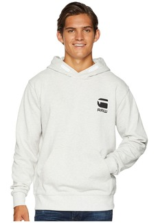 G Star Raw Denim Doax Long Sleeve Hooded Sweatshirt