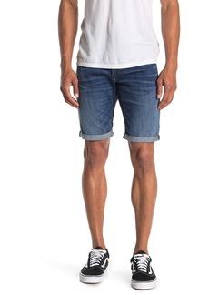 G Star Raw Denim Elto Slim Cuffed Denim Shorts