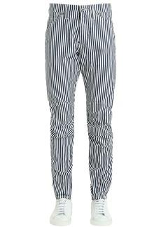 G Star Raw Denim Elwood Hickory Stripe Print Denim Jeans