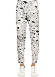 G Star Raw Denim Elwood Moon Print Tapered Denim Jeans