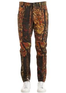G Star Raw Denim Elwood Tree Printed Tapered Denim Jeans