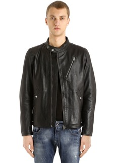 G Star Raw Denim Empral Deconstructed Leather Jacket