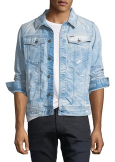 G Star Raw Denim 3301 Deconstructed Slim-Fit Jacket