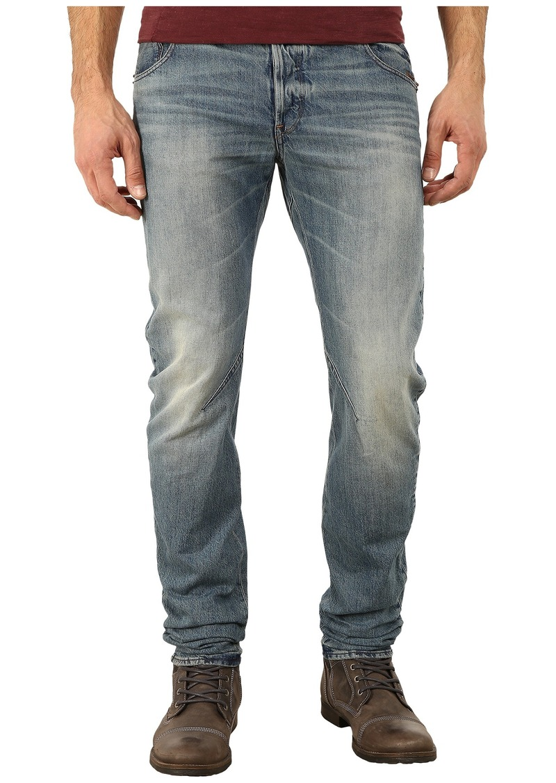 g star raw denim g star arc zip 3d slim fit jeans in zalton denim medium aged jeans shop it. Black Bedroom Furniture Sets. Home Design Ideas