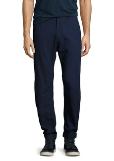 G Star Raw Denim Bronson Tapered Cuffed Pants  Navy