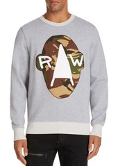 G Star Raw Denim G-STAR RAW Camo Graphic Sweatshirt