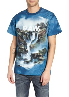 G Star Raw Denim G-Star Cyrer Waterfall Loose T-Shirt