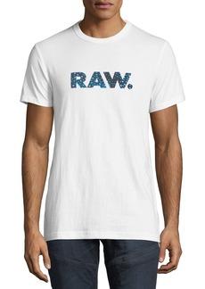 G Star Raw Denim Mai Graphic Cotton T-Shirt