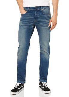G Star Raw Denim G-Star Men's 3301 Slim-Fit Jean in Firro Denim  3632