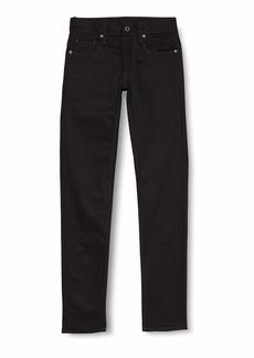 G Star Raw Denim G-Star  Men's 3301 Slim-Fit Pant in Black Edington Stretch Denim 31x34