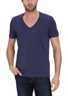 G Star Raw Denim G-Star Men's Base Heather 2-Pack Short Sleeve Tee