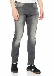 G Star Raw Denim G-Star Men's Defend Super Slim-Fit Jean in Slander Grey Superstretch  32
