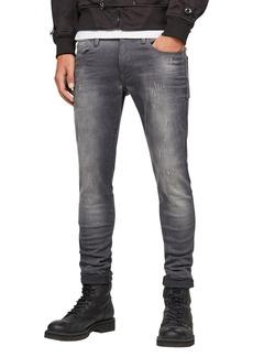 G Star Raw Denim G-Star Men's Defend Super Slim-Fit Jean in Slander Grey Superstretch  3834