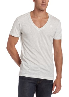 G Star Raw Denim G-Star Men's Heather 2 Pack Short Sleeve V-Neck T-Shirt