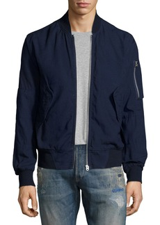 G Star Raw Denim Rackham Chambray Bomber Jacket
