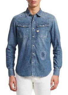 G Star Raw Denim 3301 Graft Slim Fit Denim Shirt