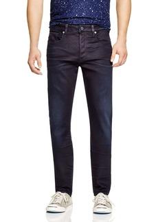G Star Raw Denim G-STAR RAW 3301 Slander Slim Fit Jeans in Dark Aged