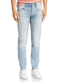 G Star Raw Denim G-STAR RAW 3301 Slim Fit Jeans in Faded Mineral