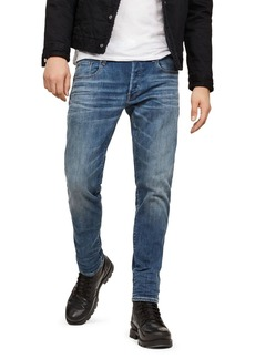 G Star Raw Denim G-STAR RAW 3301 Slim Fit Jeans in Medium Age