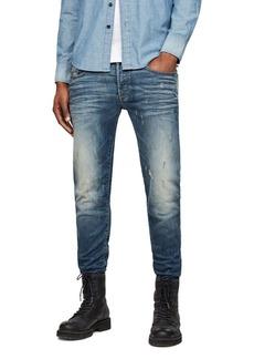 G Star Raw Denim G-STAR RAW 3301 Super Slim Jeans in Vintage Blue