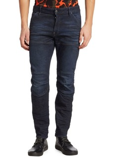 G Star Raw Denim 3D Skinny Seamed Jeans