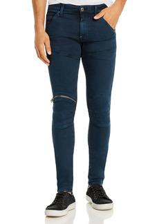 G Star Raw Denim G-STAR RAW 5620 3-D Zip-Knee Skinny Fit Jeans in Legion Blue